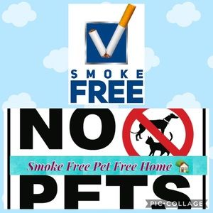 Other - Pet Free and Smoke Free Home
